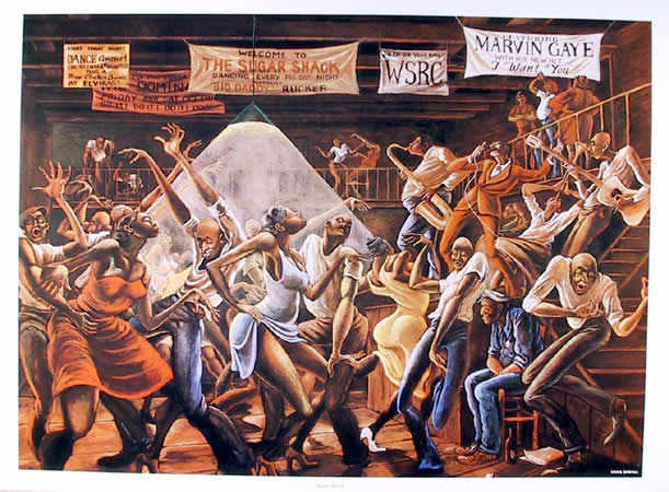 Famous African American Dance Paintings Good Times – Raynee ...