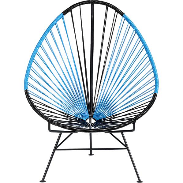 acapulco-black-blue-lounge-chair- cb2