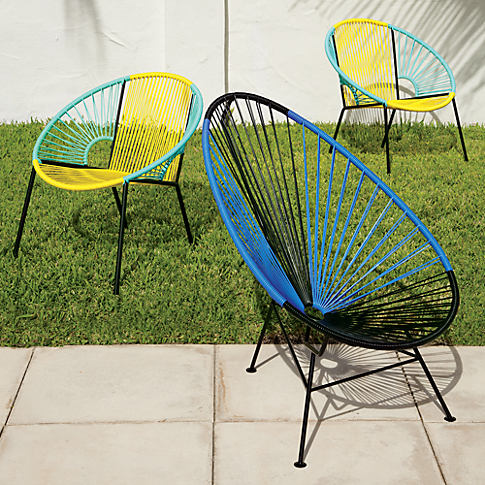 colorful outdoor chairs – raynee + color